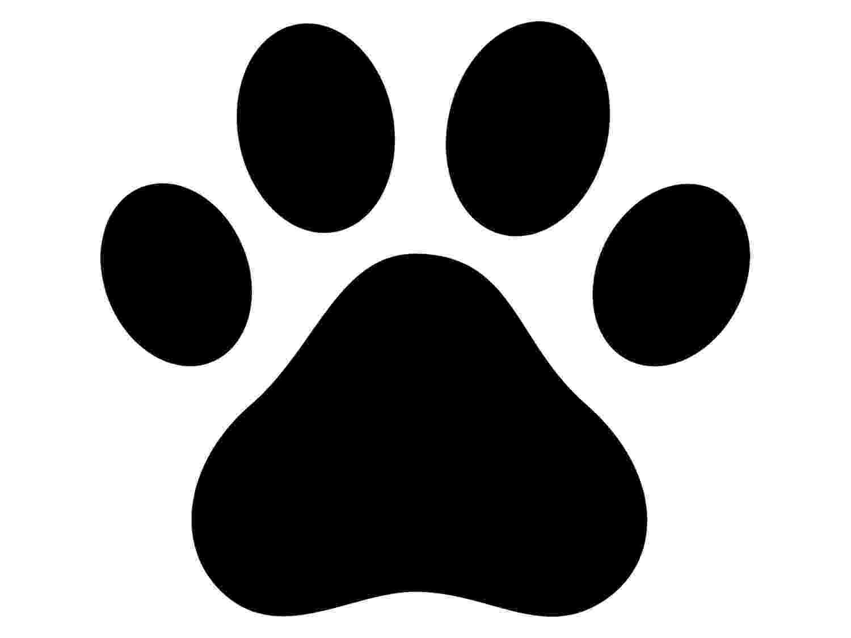 print a dog paw print decal paw print sticker outdoor vinyl dog paw printr a print dog