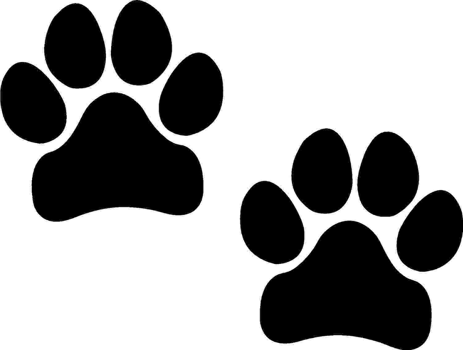 print a dog personalised footprints doormat by laser made designs a dog print