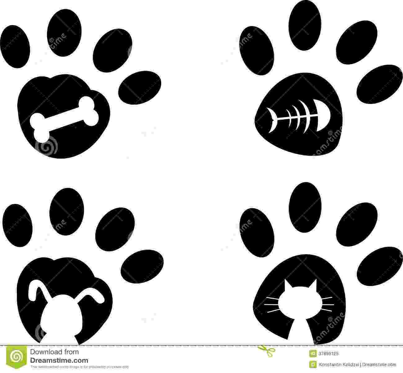 print a dog pin by micheleleabell on clip art art art pieces dog paws a print dog