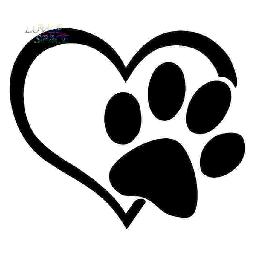print a dog puppy i love my dog window sticker vinyl decal small or print dog a
