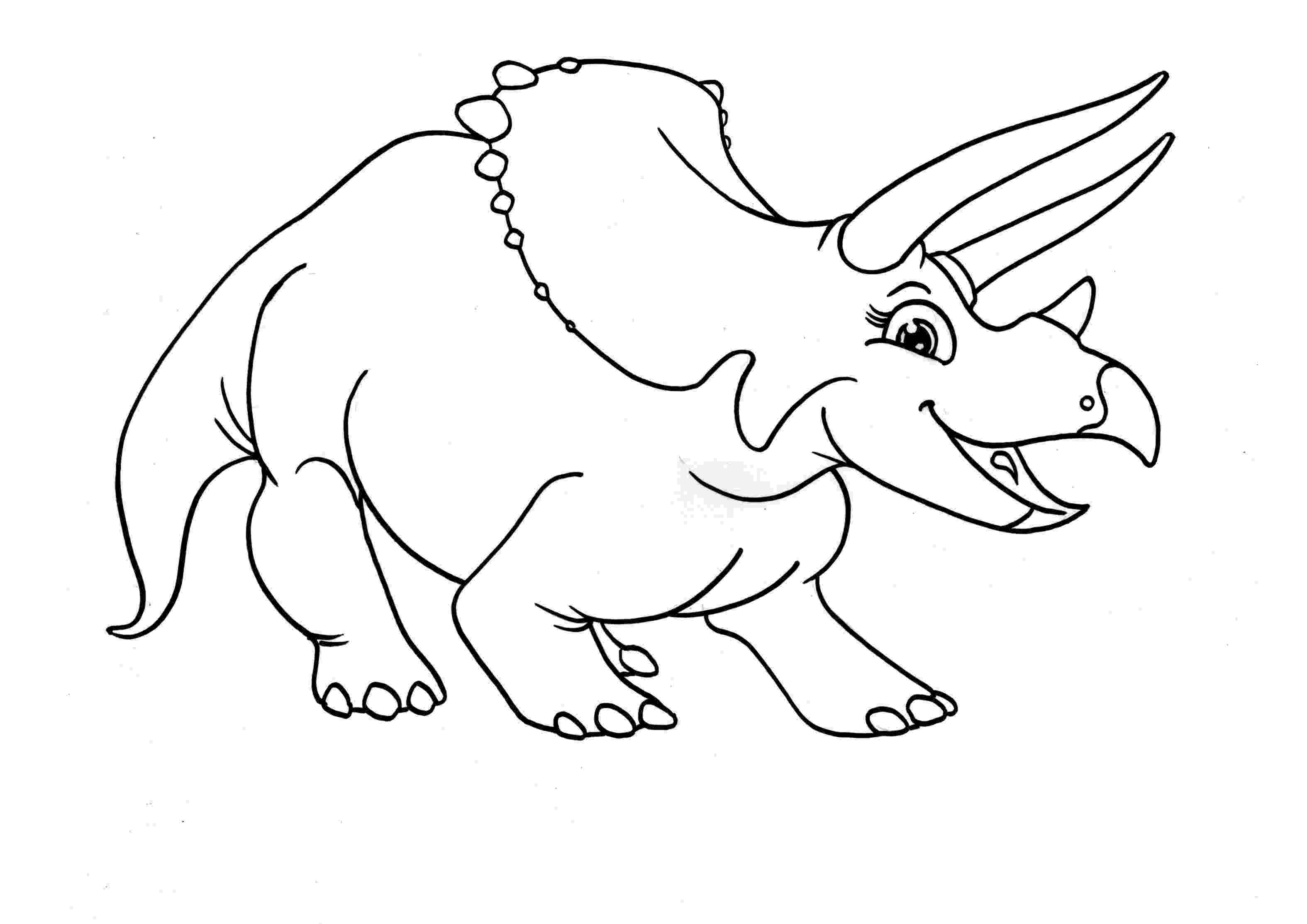 print dinosaur pictures free printable triceratops coloring pages for kids pictures print dinosaur