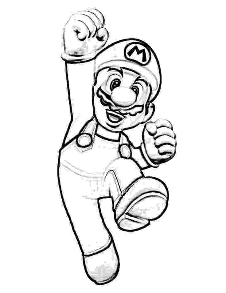 print mario nintendo launches coloring pages with characters mario mario print