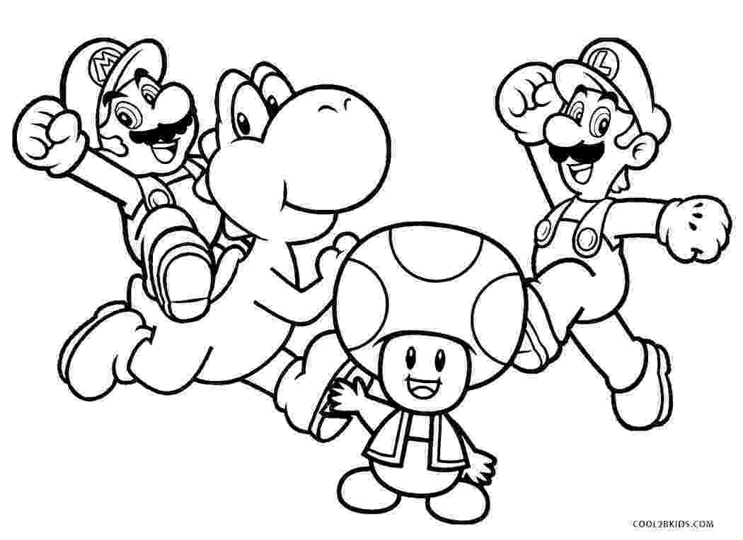 print mario printable luigi coloring pages for kids cool2bkids print mario