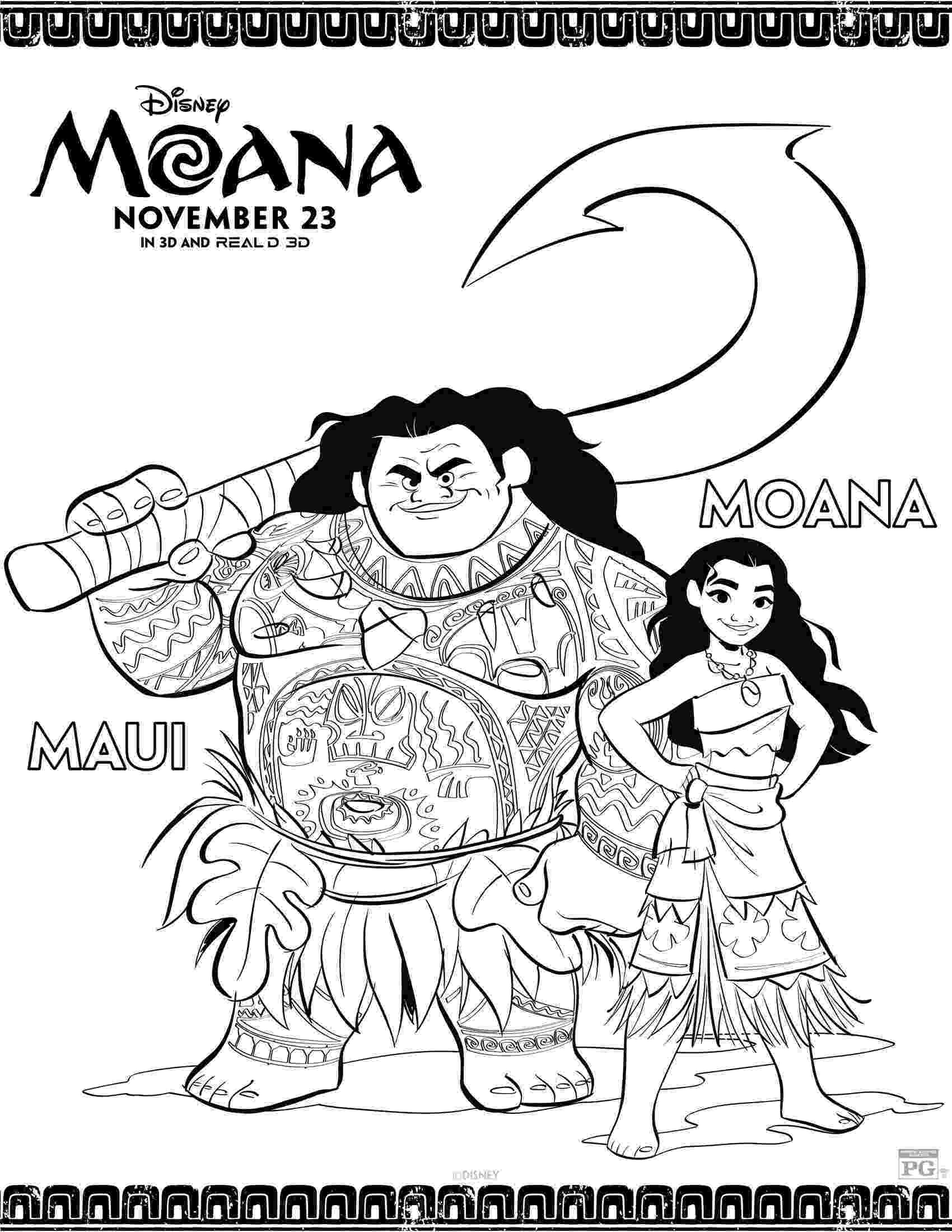 print moana coloring pages disney39s moana coloring pages and activity sheets printables coloring print moana pages
