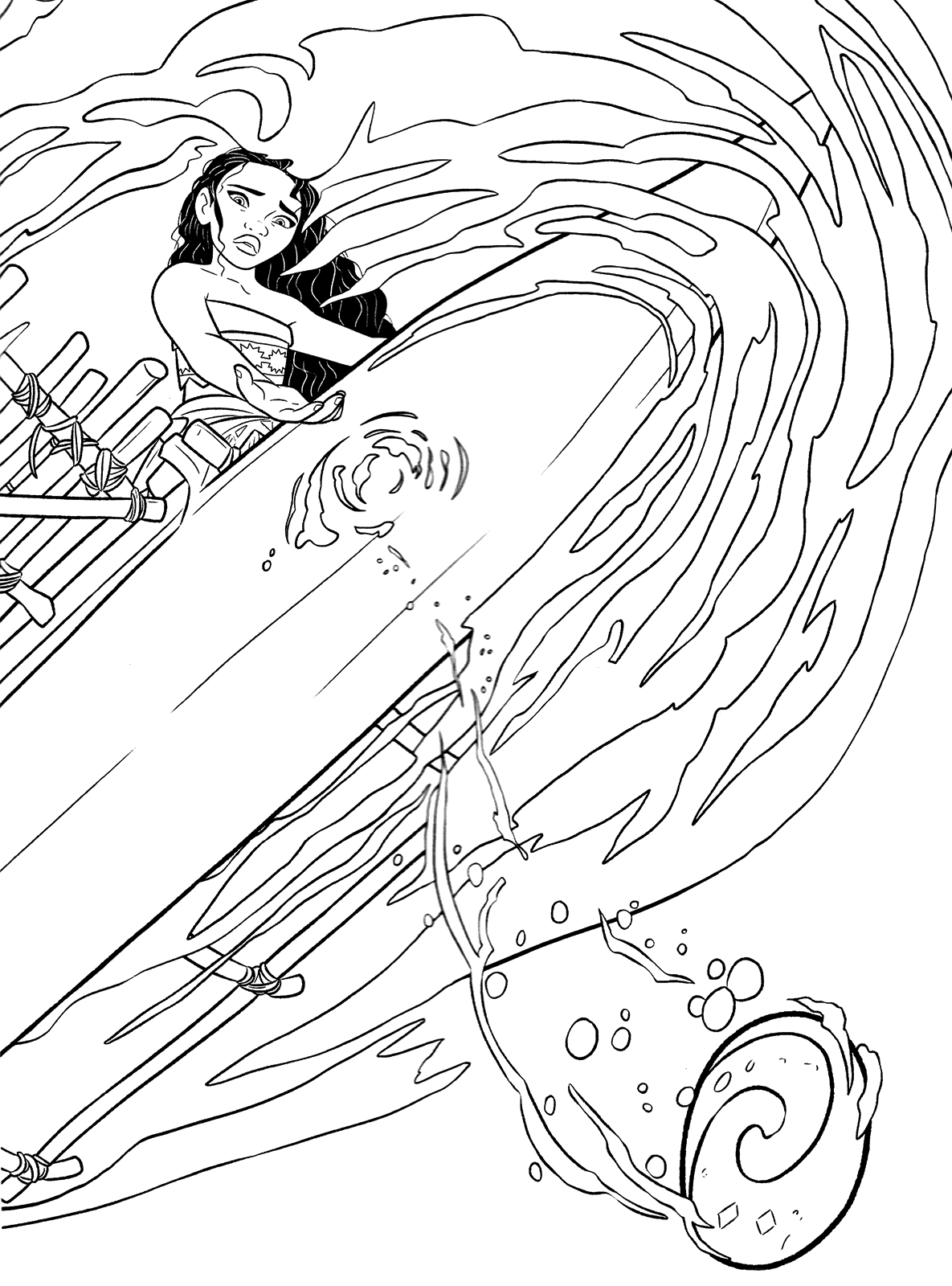 print moana coloring pages moana coloring pages free printables from disney coloring moana pages print