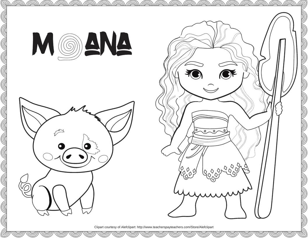 print moana coloring pages princess moana portrait coloring page free printable moana print pages coloring
