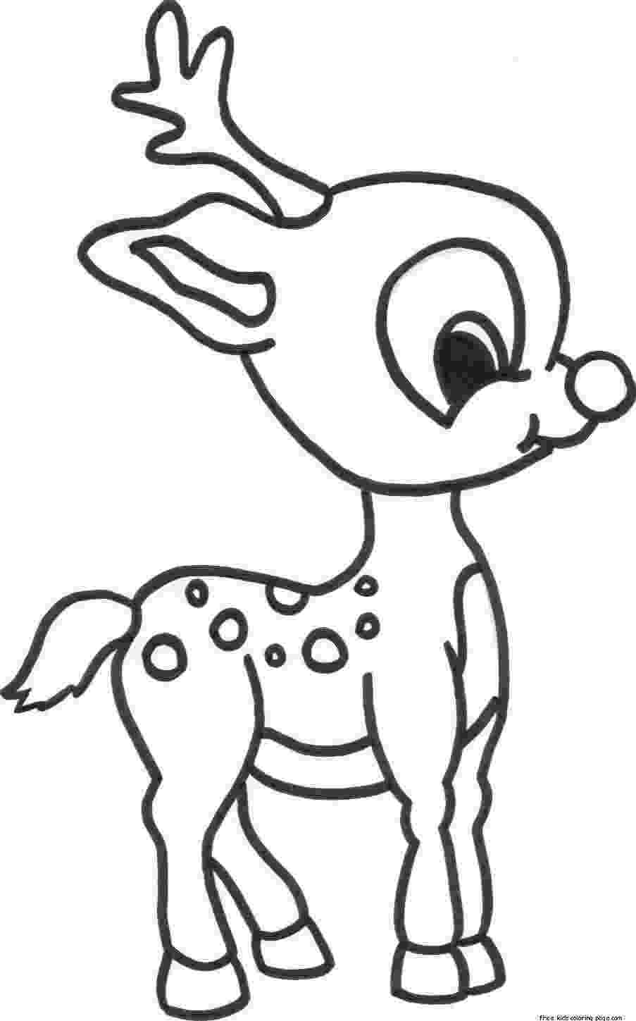 print out coloring pages merry christmas baby romance reindeer coloring pagesfree out print pages coloring