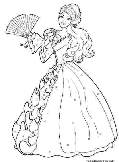 printable 8x10 free coloring pages printable barbie princess dress up games and makeover 8x10 pages free printable coloring