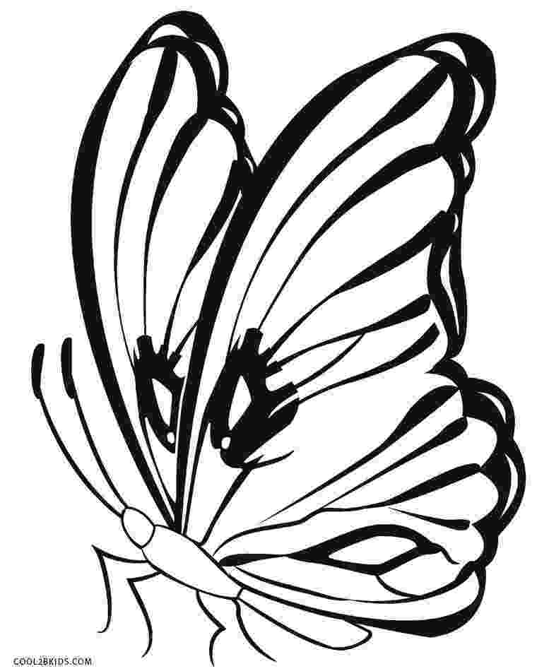 printable butterfly coloring page free printable butterfly coloring pages for kids butterfly printable page coloring