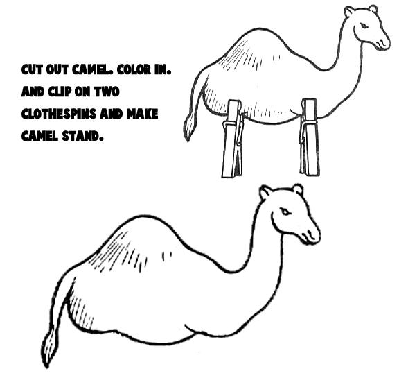 printable camel camel crafts for kids make your own arts and crafts camel printable
