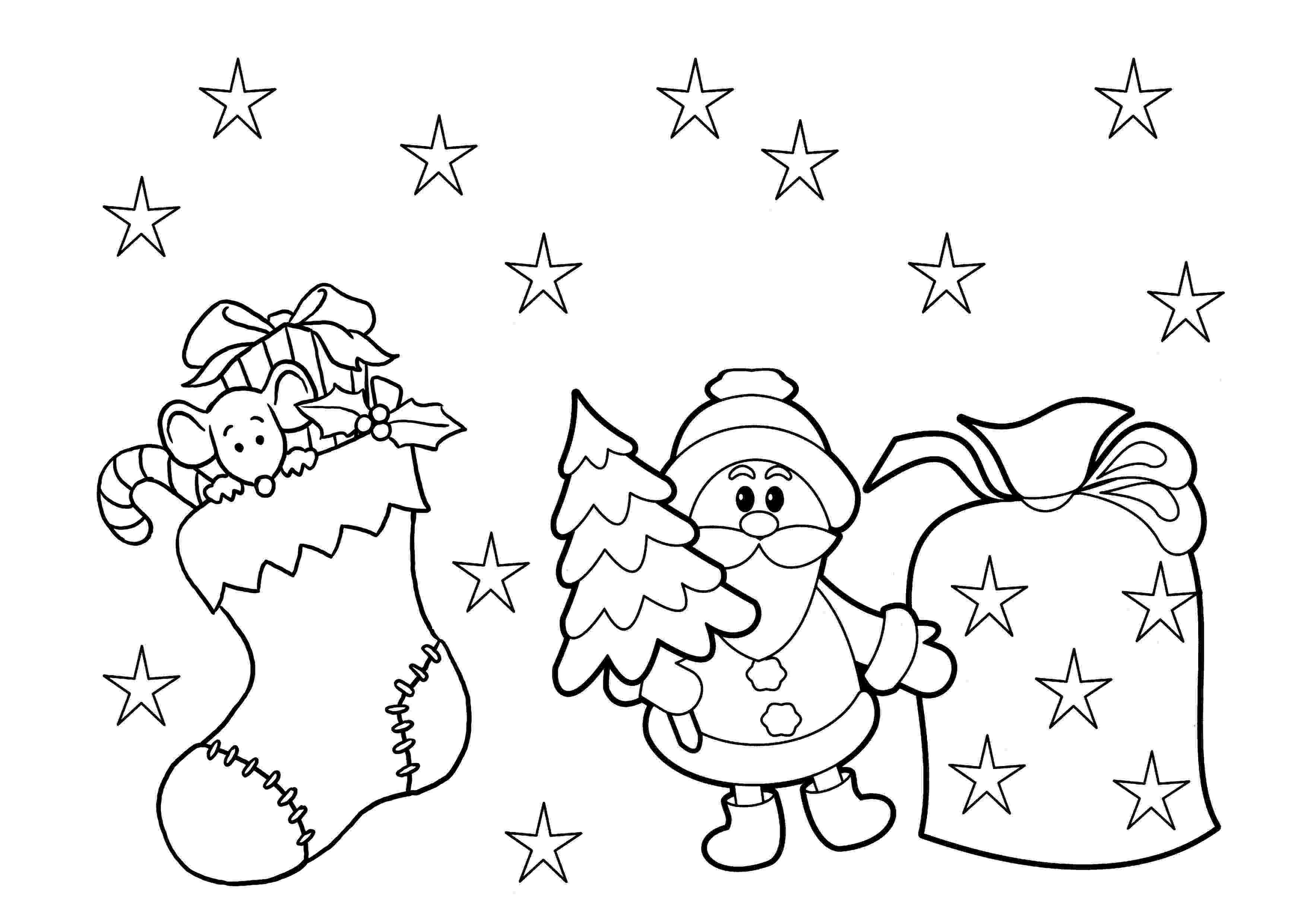 printable christmas coloring pages for kindergarten easy preschool coloring pages coloring christmas for kindergarten pages printable
