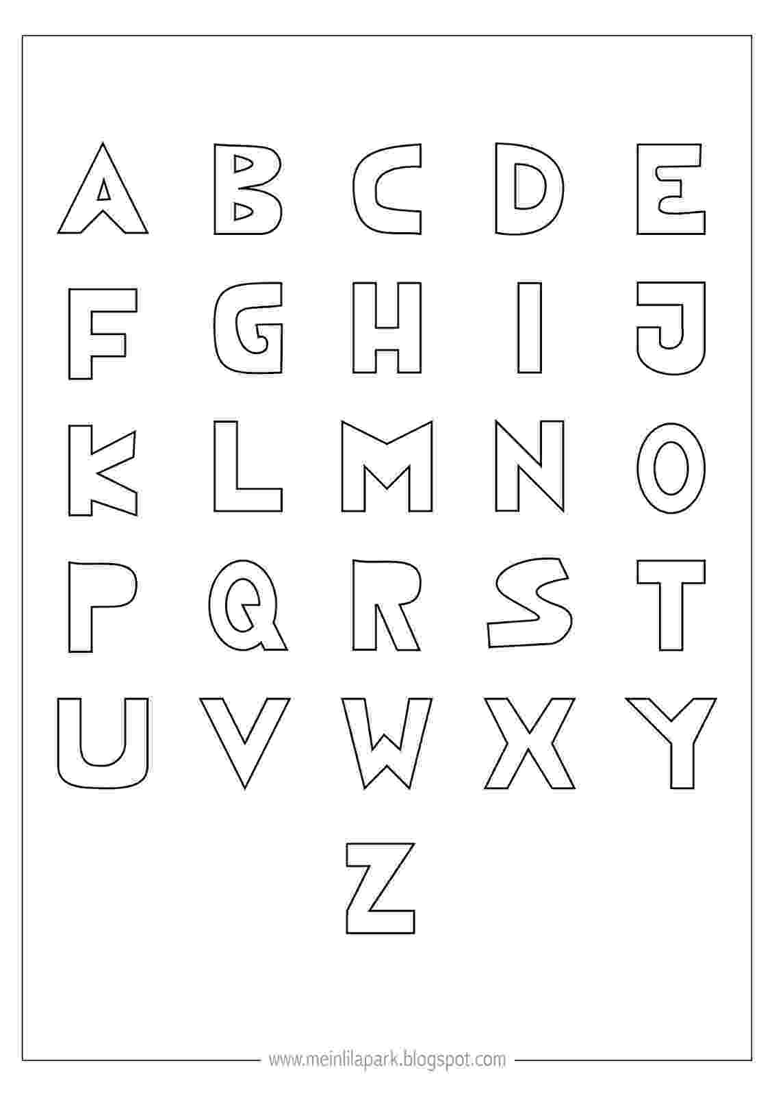 printable coloring alphabet letters free printable alphabet coloring pages for kids best coloring printable letters alphabet 1 2