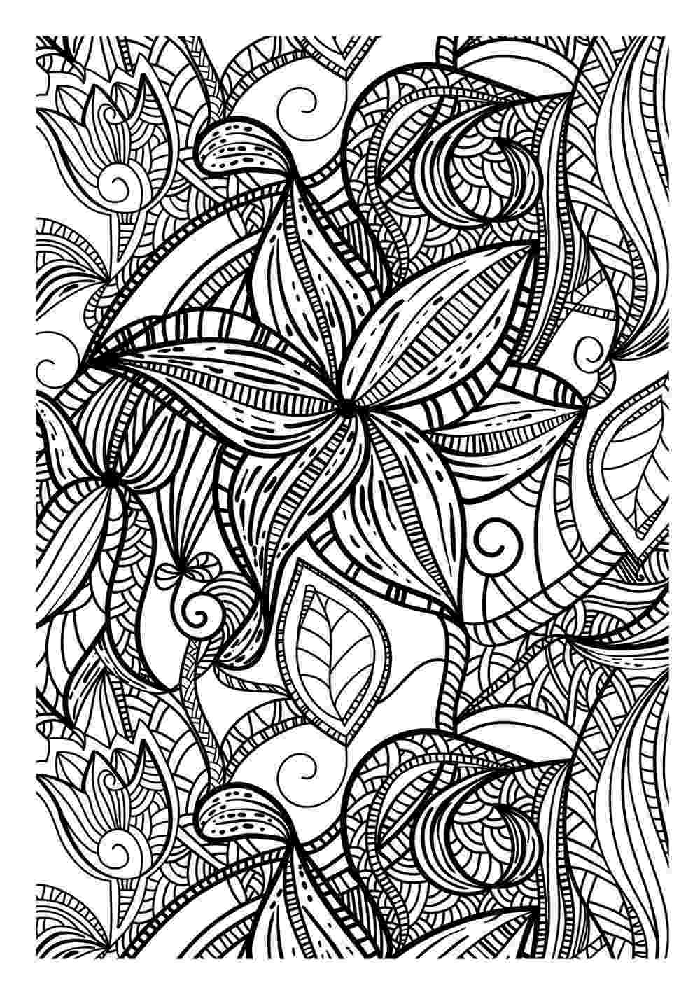 printable coloring art pages art therapy coloring pages to download and print for free coloring printable pages art