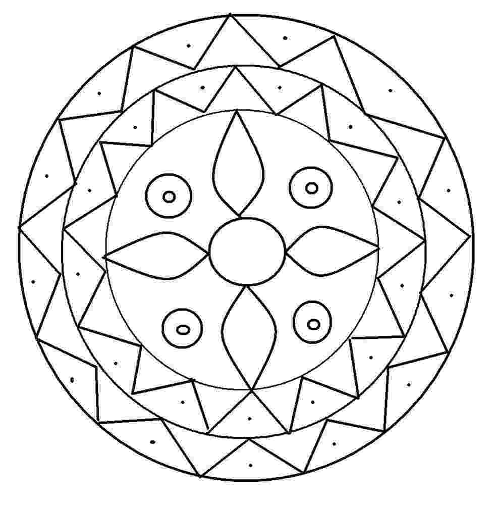printable coloring designs free printable geometric coloring pages for adults coloring designs printable 1 1