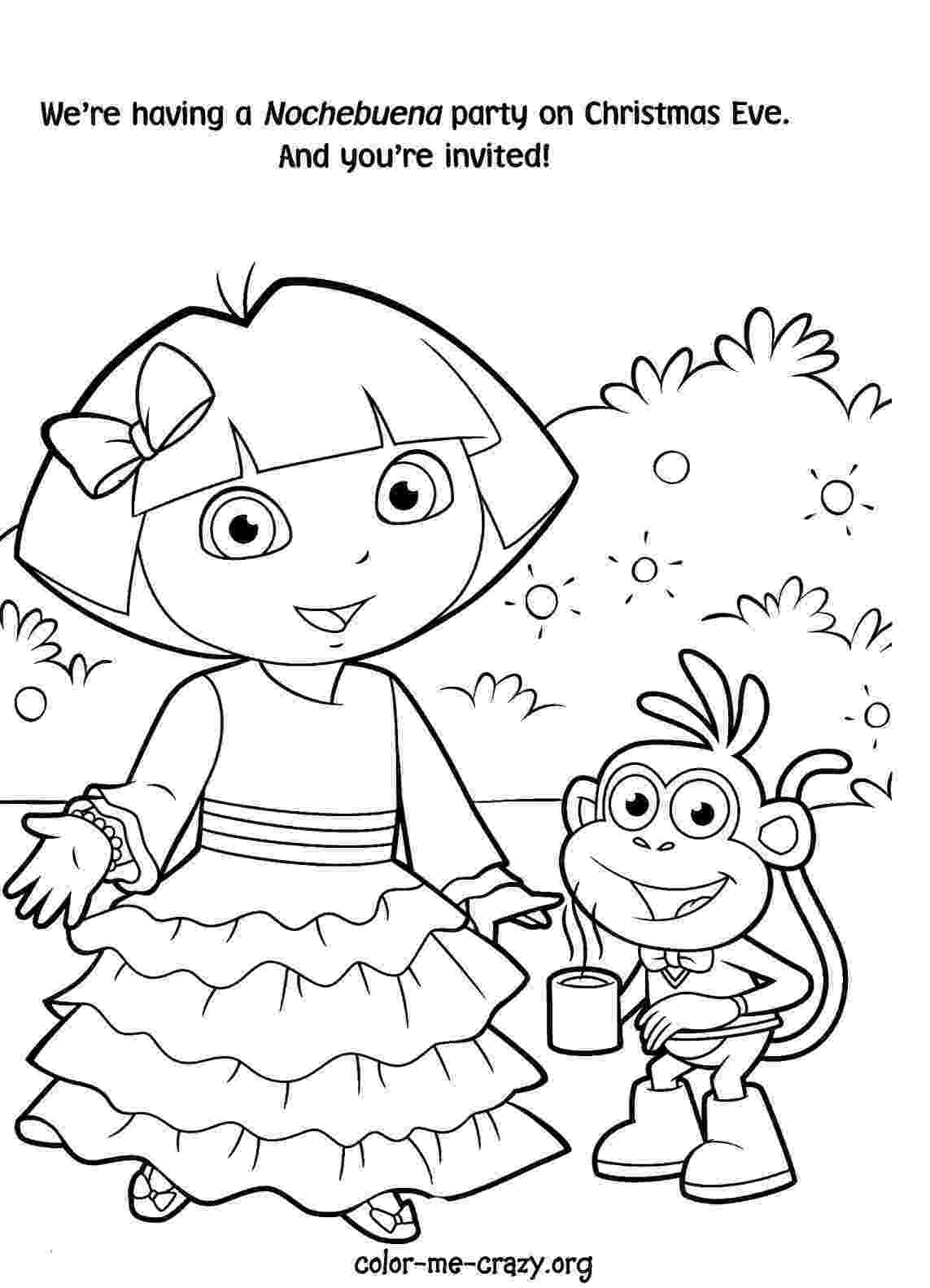 printable coloring dora dora color pages to print coloring home jeffersonclan printable dora coloring
