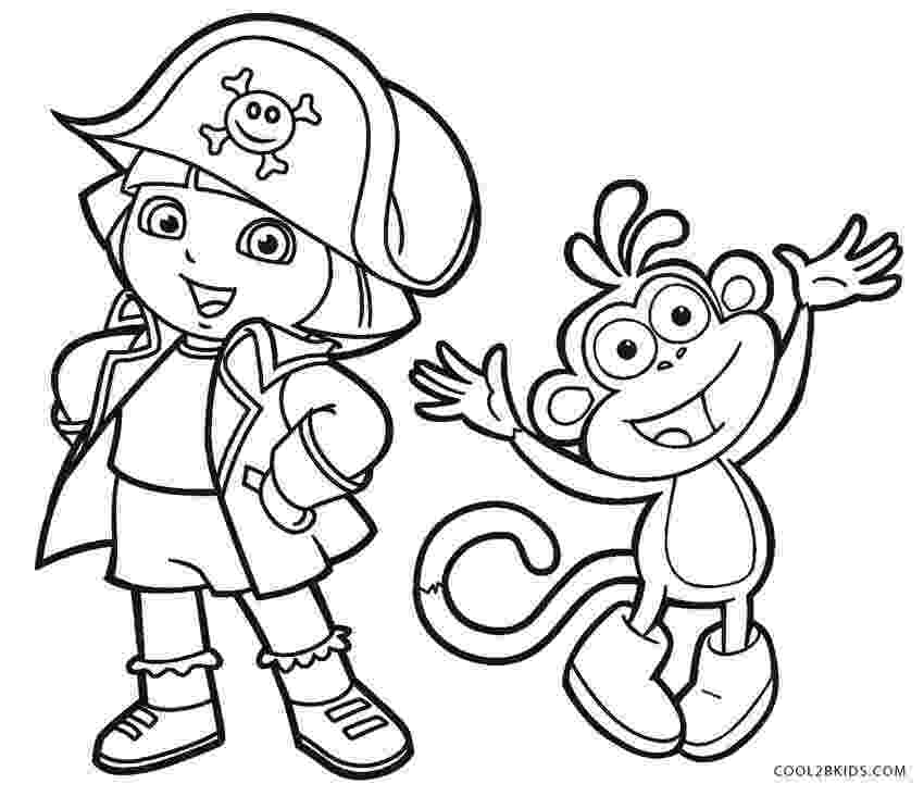 printable coloring dora free printable dora the explorer coloring pages for kids dora coloring printable