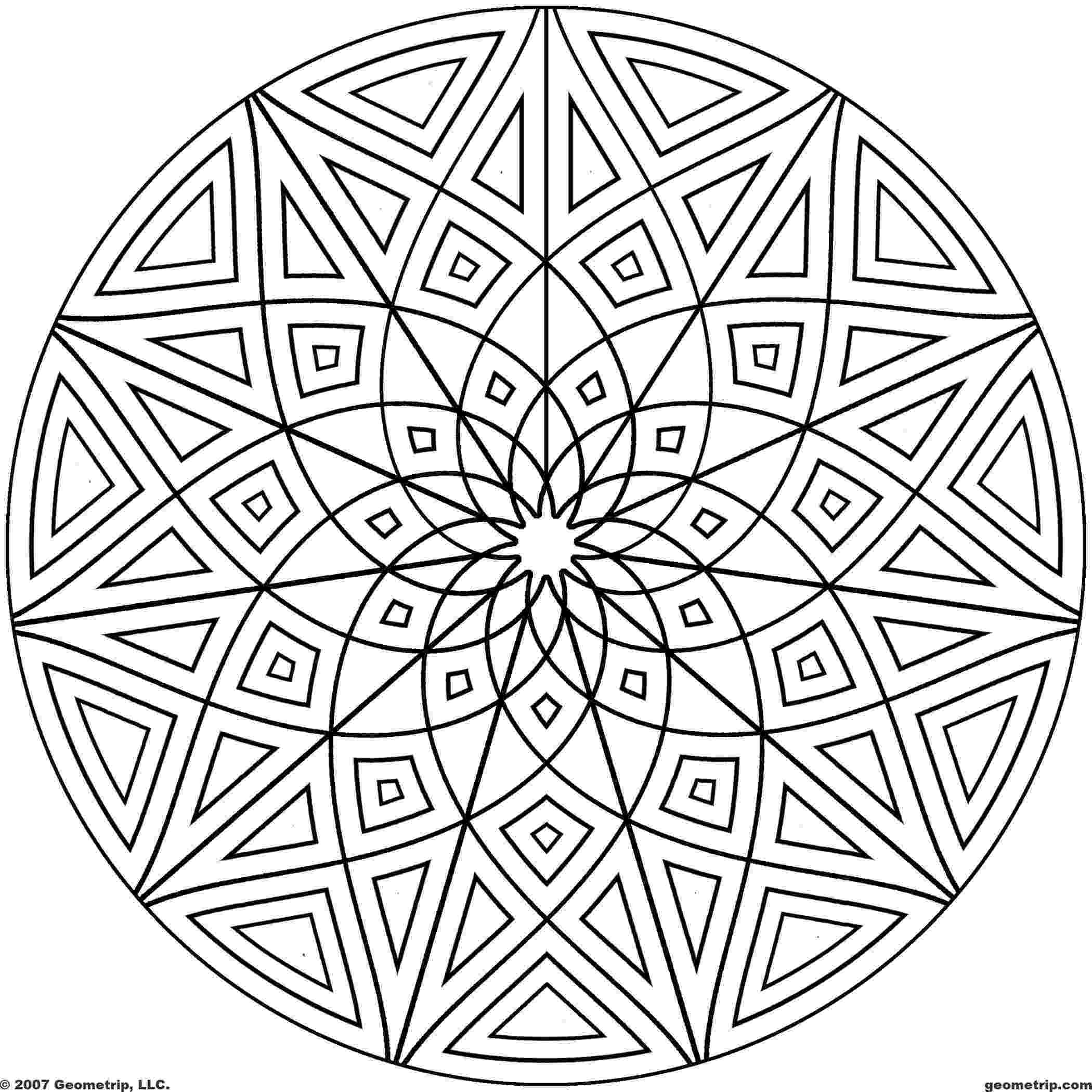 printable coloring geometric shapes geometric shapes coloring pages coloring pages to printable geometric shapes coloring