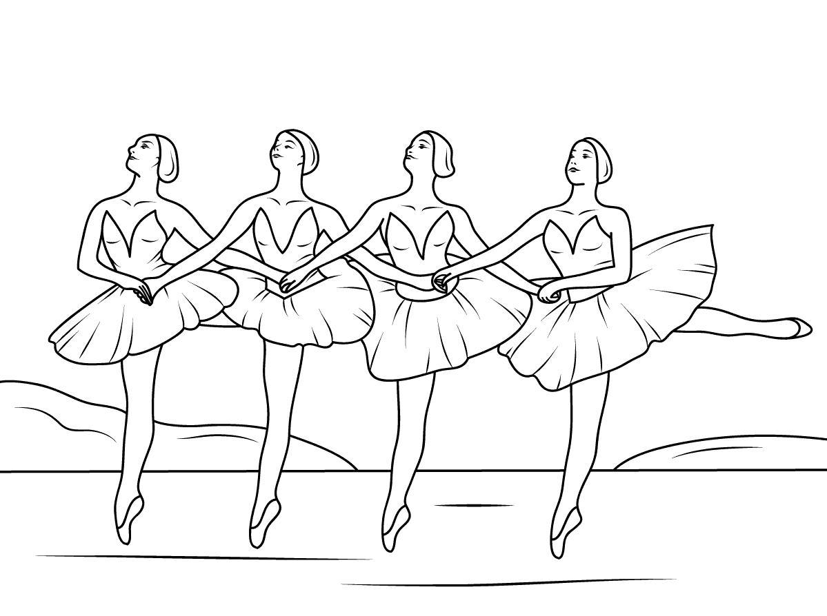 printable coloring pages ballerina ballerina coloring pages for childrens printable for free ballerina printable coloring pages