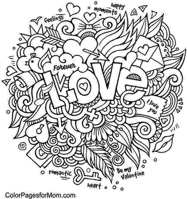 printable coloring pages for adults love 169 best hearts love coloring pages for adults images on coloring pages for love printable adults