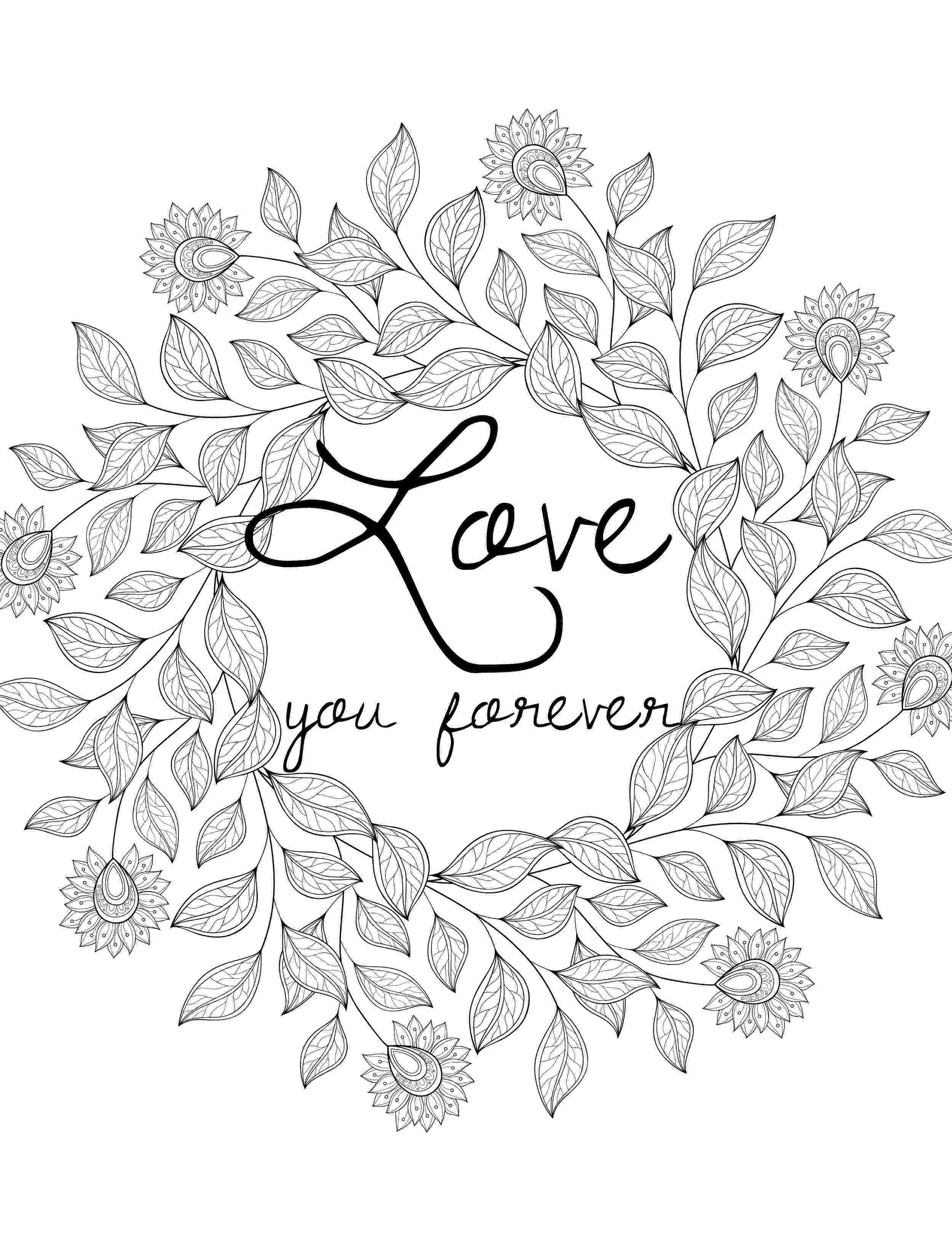 printable coloring pages for adults love power of love coloring book by thaneeya mcardle thaneeyacom love adults coloring for pages printable