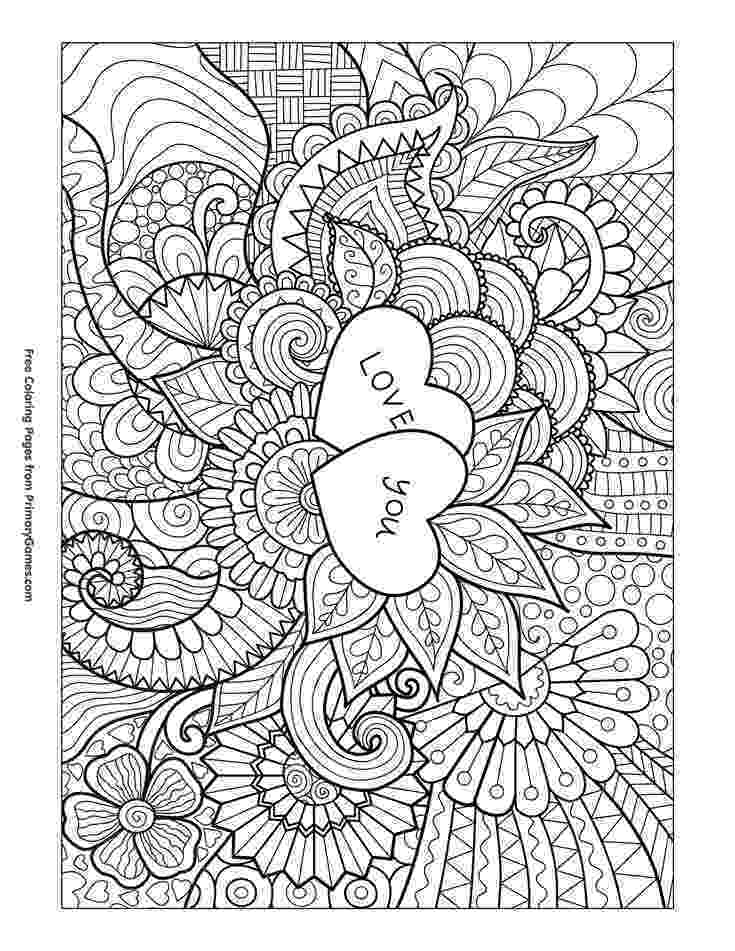 printable coloring pages for adults love printable valentine39s day coloring pages my craftily pages adults for coloring love printable
