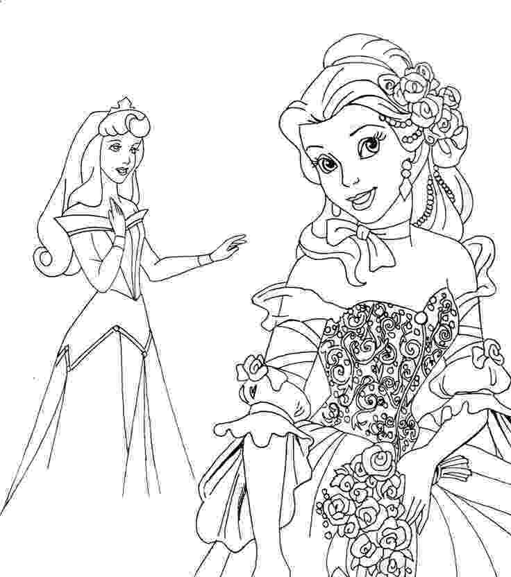 printable coloring pages for disney princess crayons and checkbooks free disney princess coloring pages for coloring princess disney printable pages