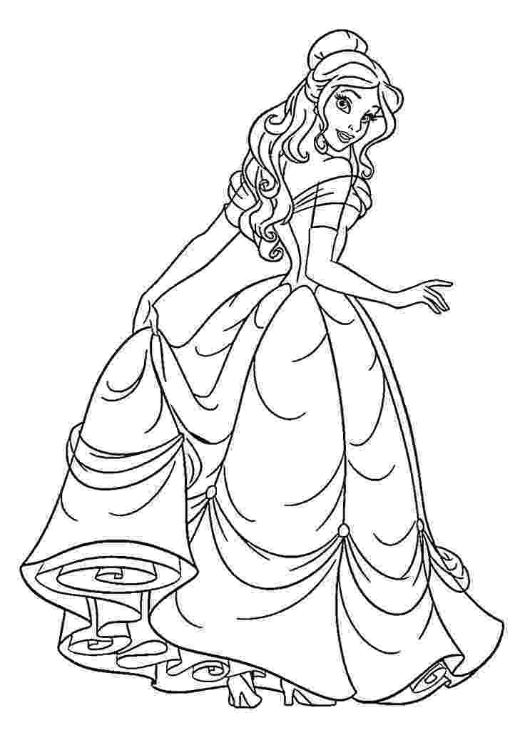 printable coloring pages for disney princess disney princess coloring pages free printable for coloring printable princess disney pages