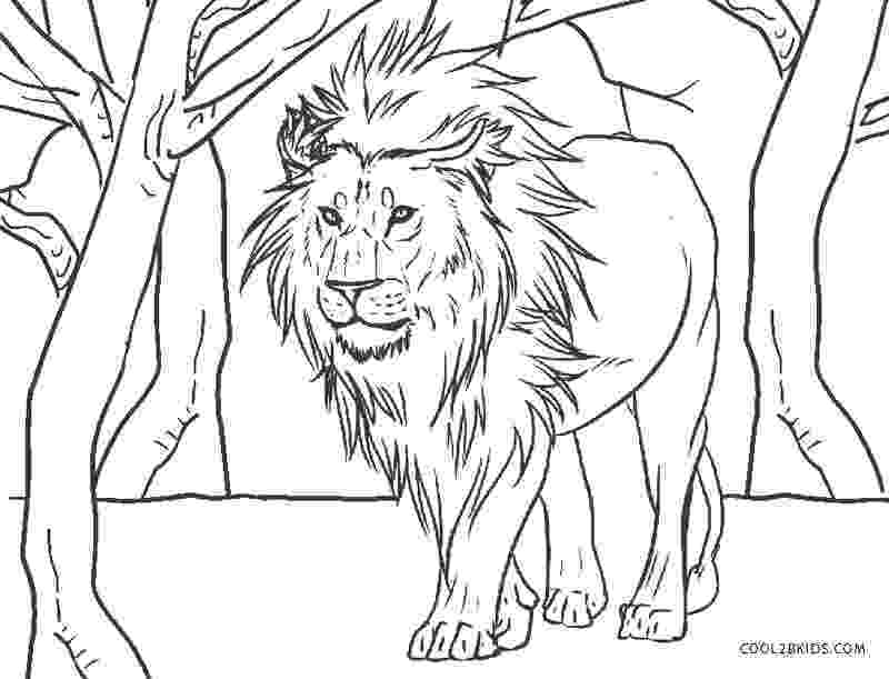 printable coloring pages lion free printable lion coloring pages for kids cool2bkids printable lion coloring pages