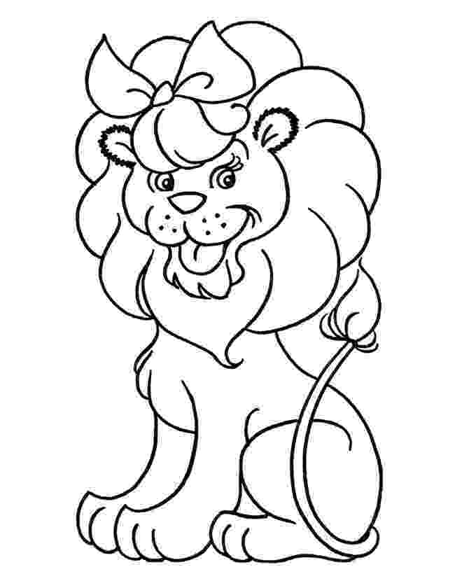 printable coloring pages lion free printable lion coloring pages for kids cool2bkids printable lion coloring pages 1 1