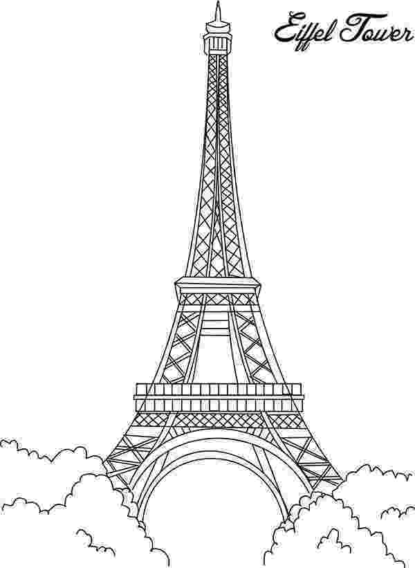 printable coloring pages paris free eiffel tower clipart coloring pages printable paris