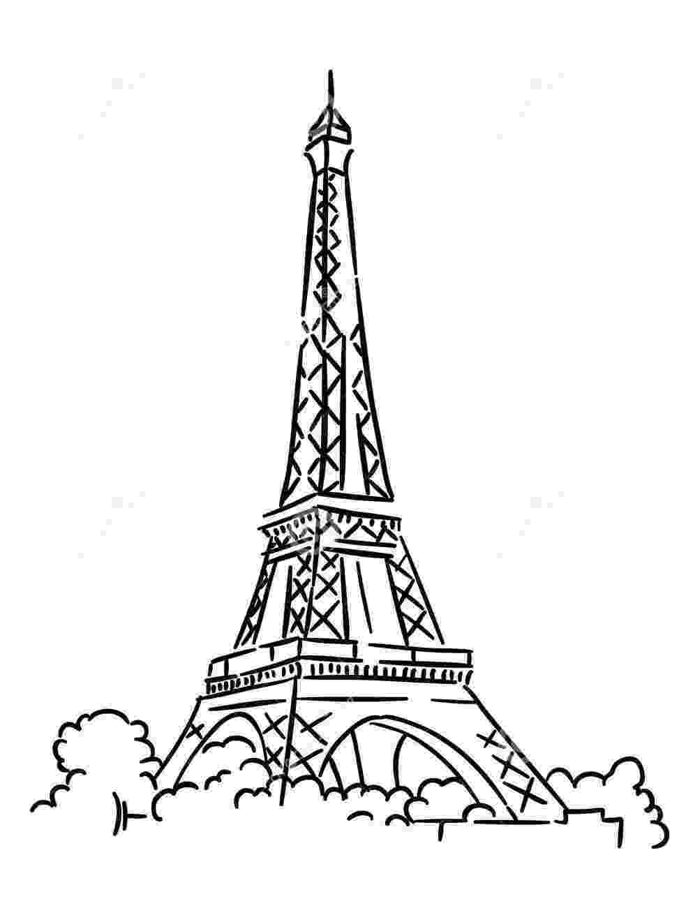 printable coloring pages paris paris eiffel tower coloring pages download and print for free pages printable coloring paris 1 1