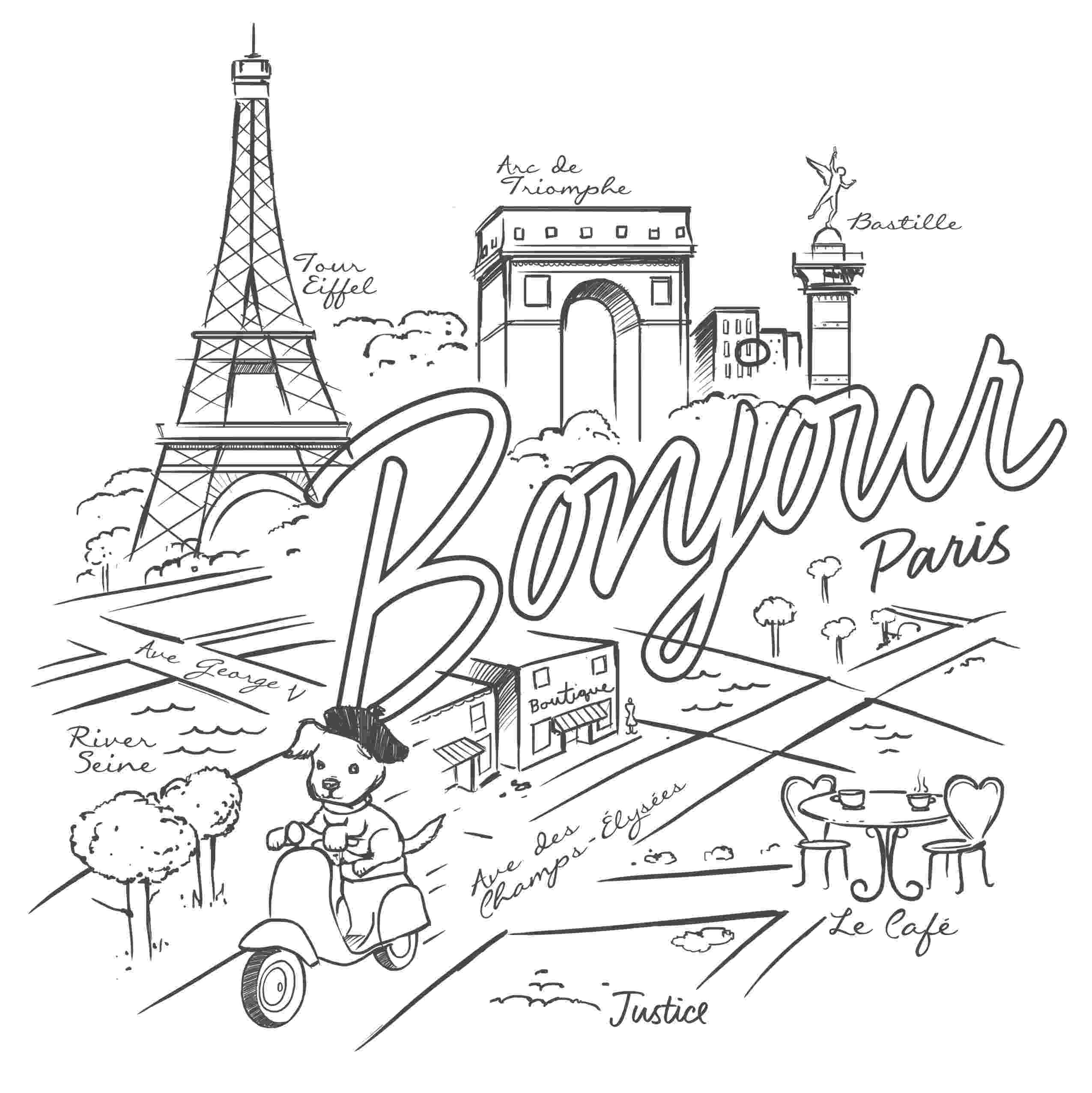 printable coloring pages paris printable eiffel tower coloring pages for kids cool2bkids paris coloring pages printable