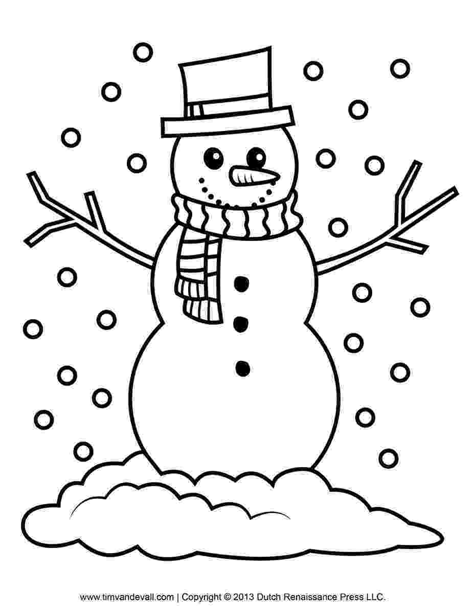 printable coloring pages snowman cloverbud investigators gallia pages printable coloring snowman