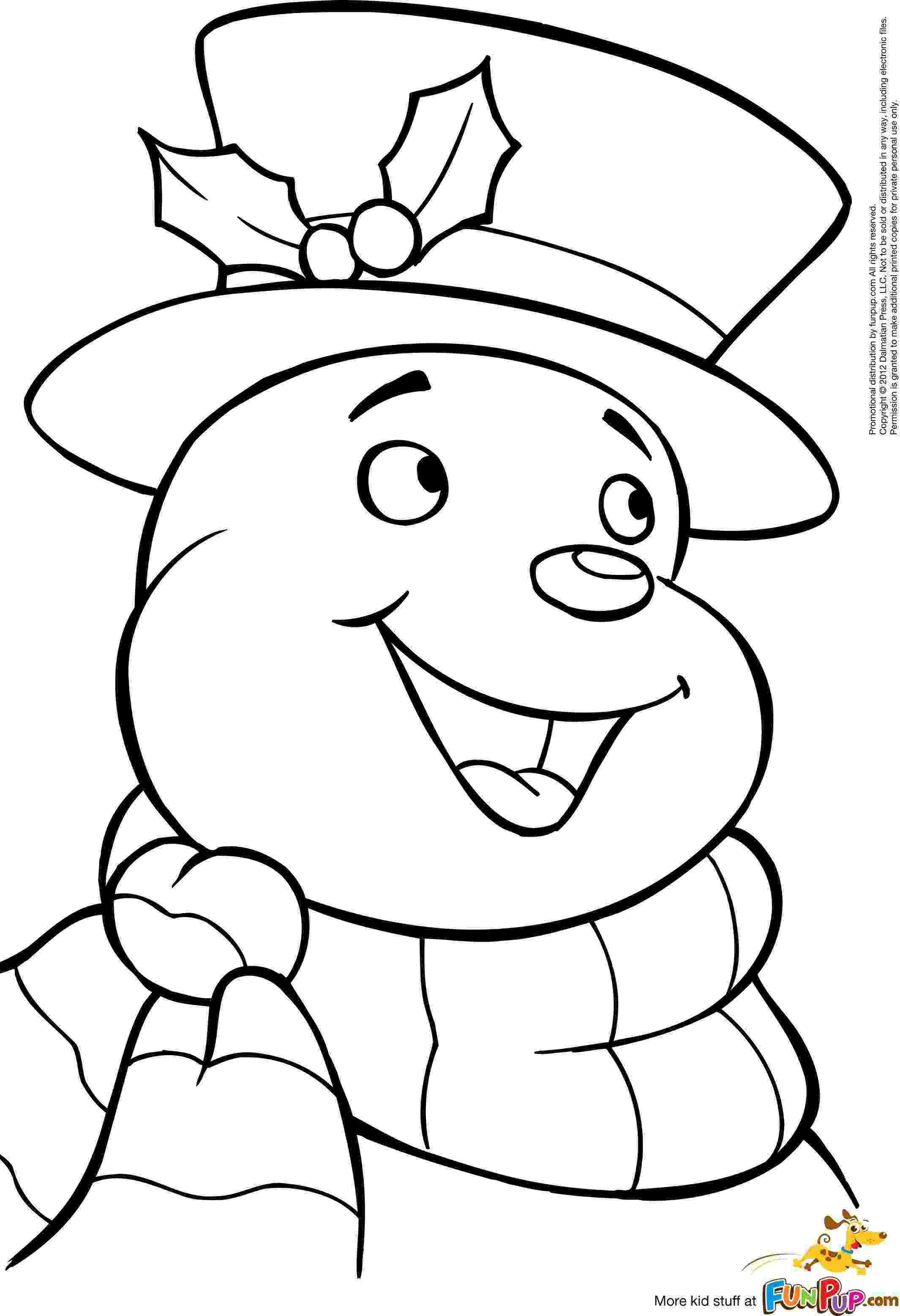 printable coloring pages snowman printable jolly snowman coloring page to print and color printable snowman coloring pages