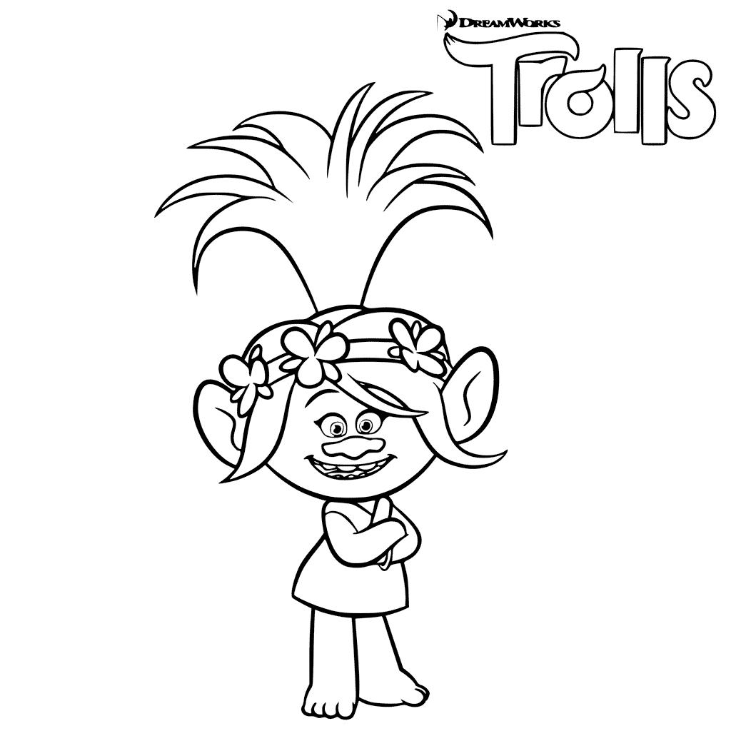 printable coloring pages trolls 30 printable trolls movie coloring pages printable pages coloring trolls