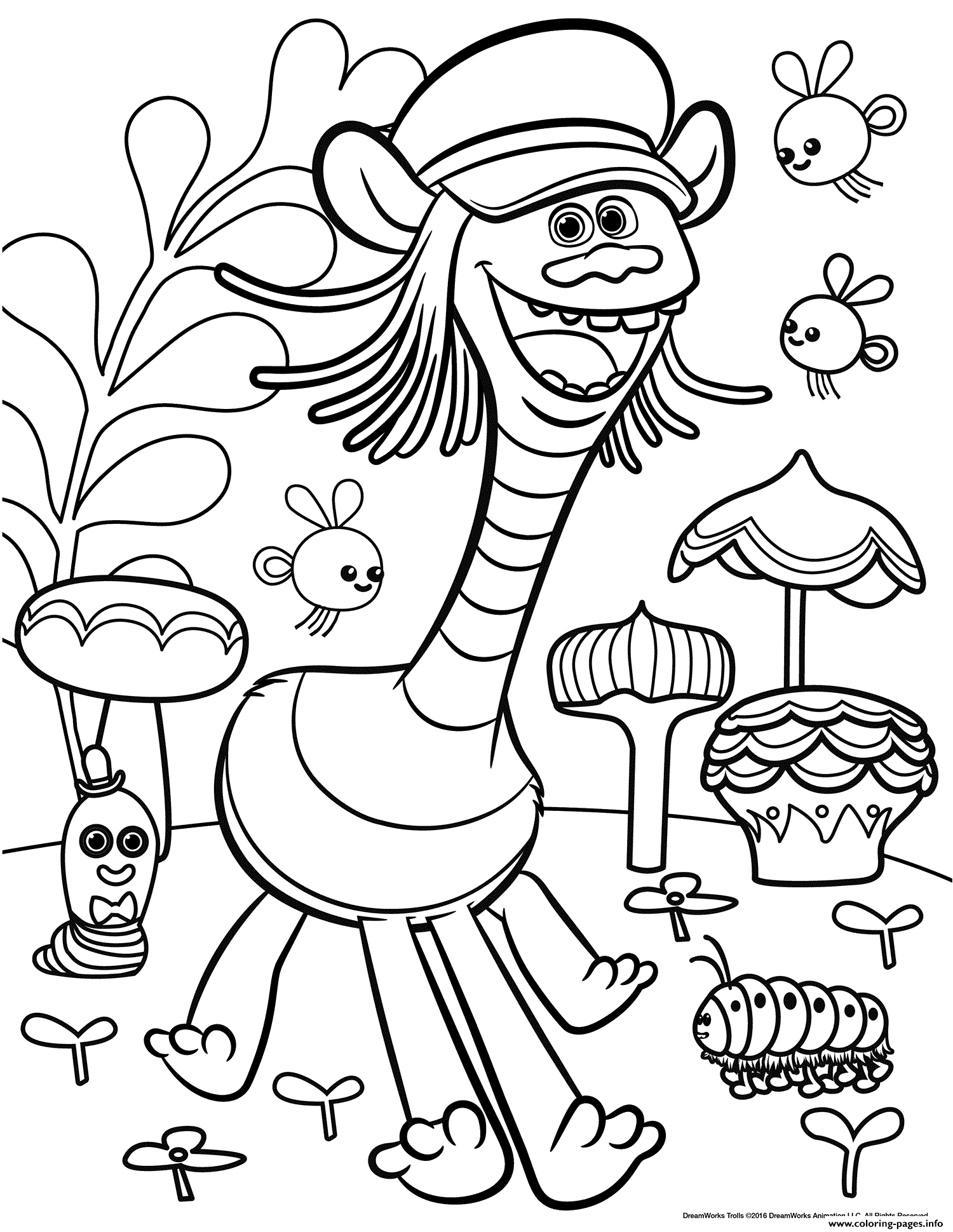 printable coloring pages trolls print trolls movie color troll coloring pages trolls printable pages coloring