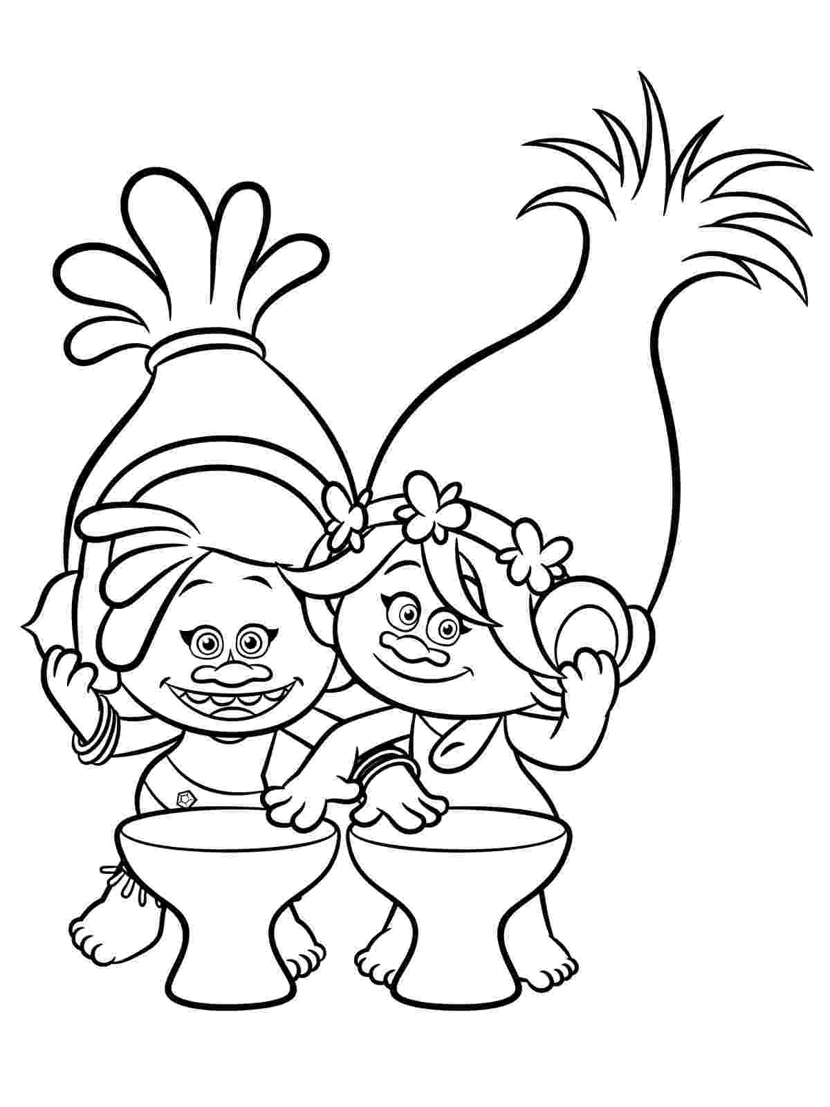 printable coloring pages trolls trolls coloring pages to download and print for free trolls pages printable coloring