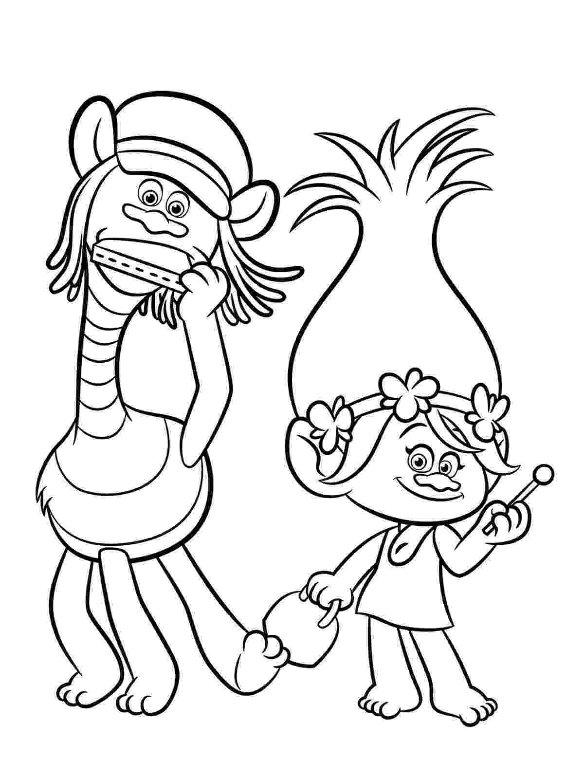 printable coloring pages trolls trolls movie coloring pages best coloring pages for kids pages printable trolls coloring