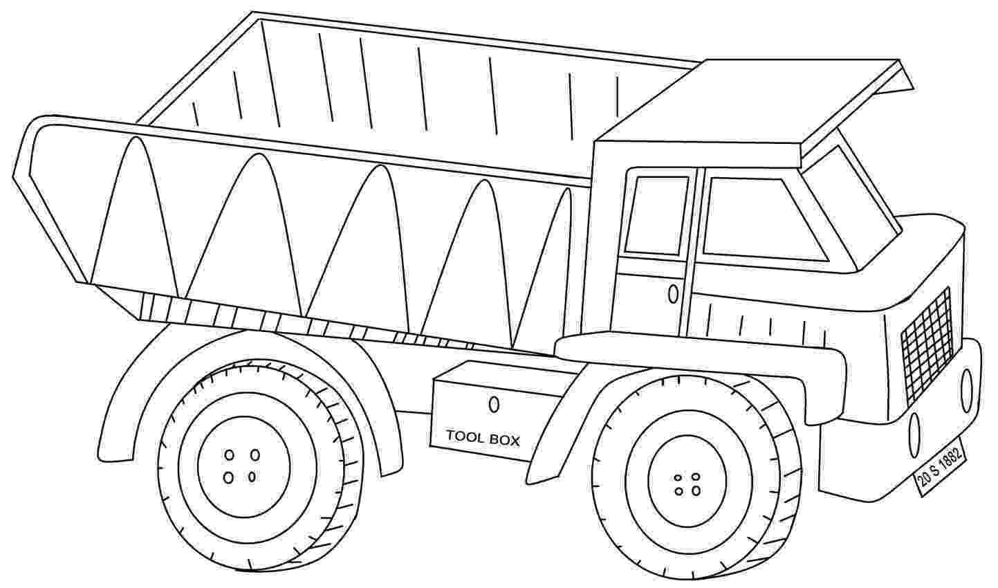printable coloring pages trucks diesel truck coloring pages at getcoloringscom free coloring trucks pages printable