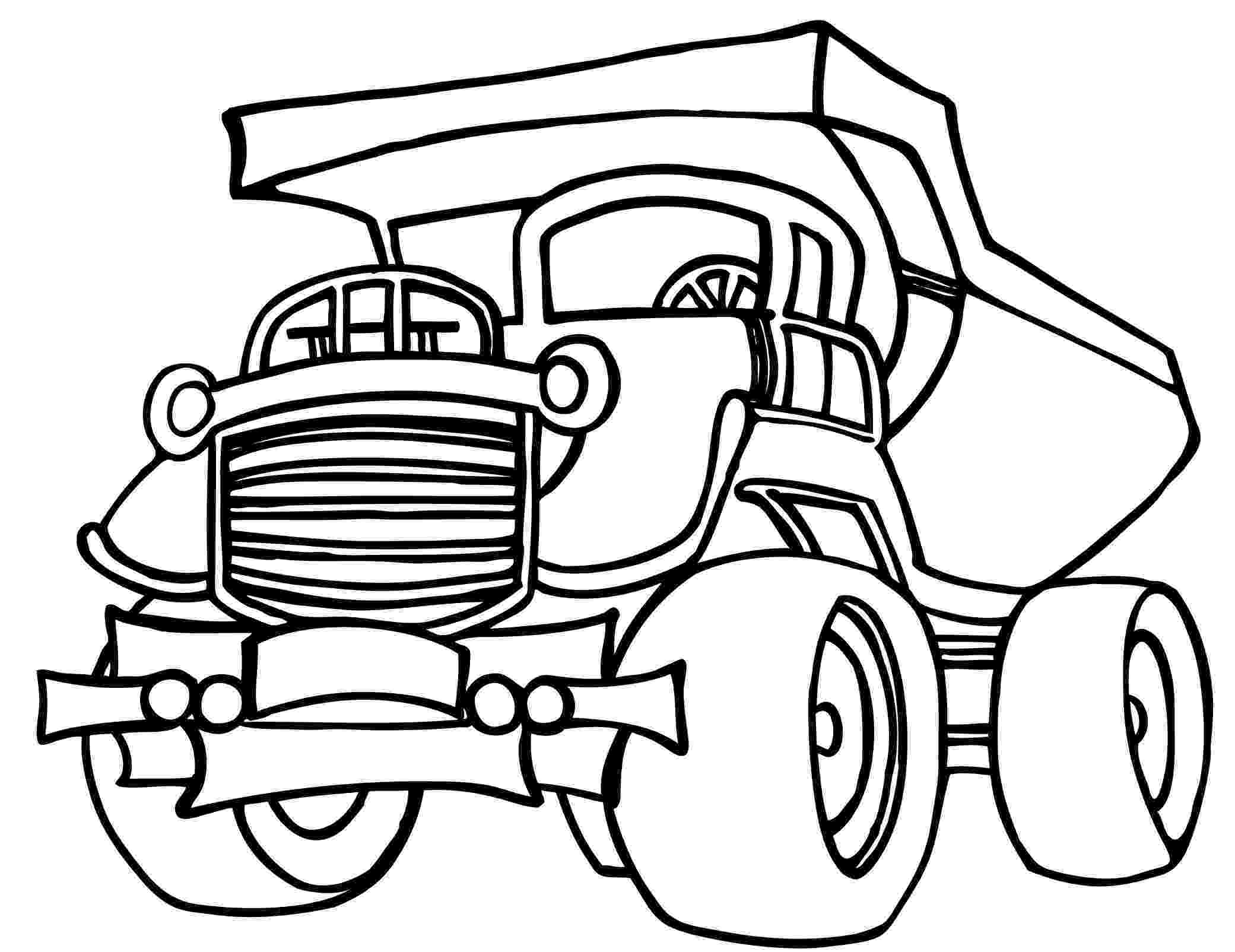 printable coloring pages trucks dump truck coloring pages to download and print for free printable pages coloring trucks