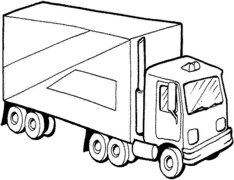 printable coloring pages trucks free truck coloring pages for adults truck coloring coloring printable trucks pages
