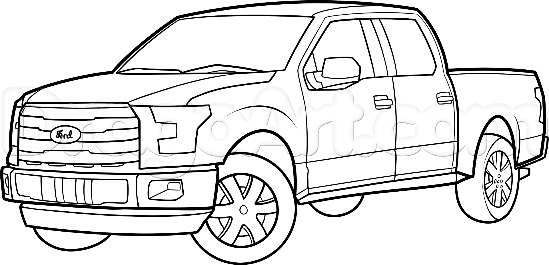 printable coloring pages trucks pickup truck coloring pages printable at getcoloringscom coloring printable trucks pages