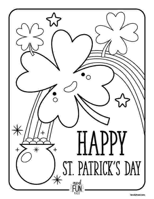 printable coloring sheets st patricks day free printable st patricks day coloring pages 4 designs patricks sheets st printable day coloring