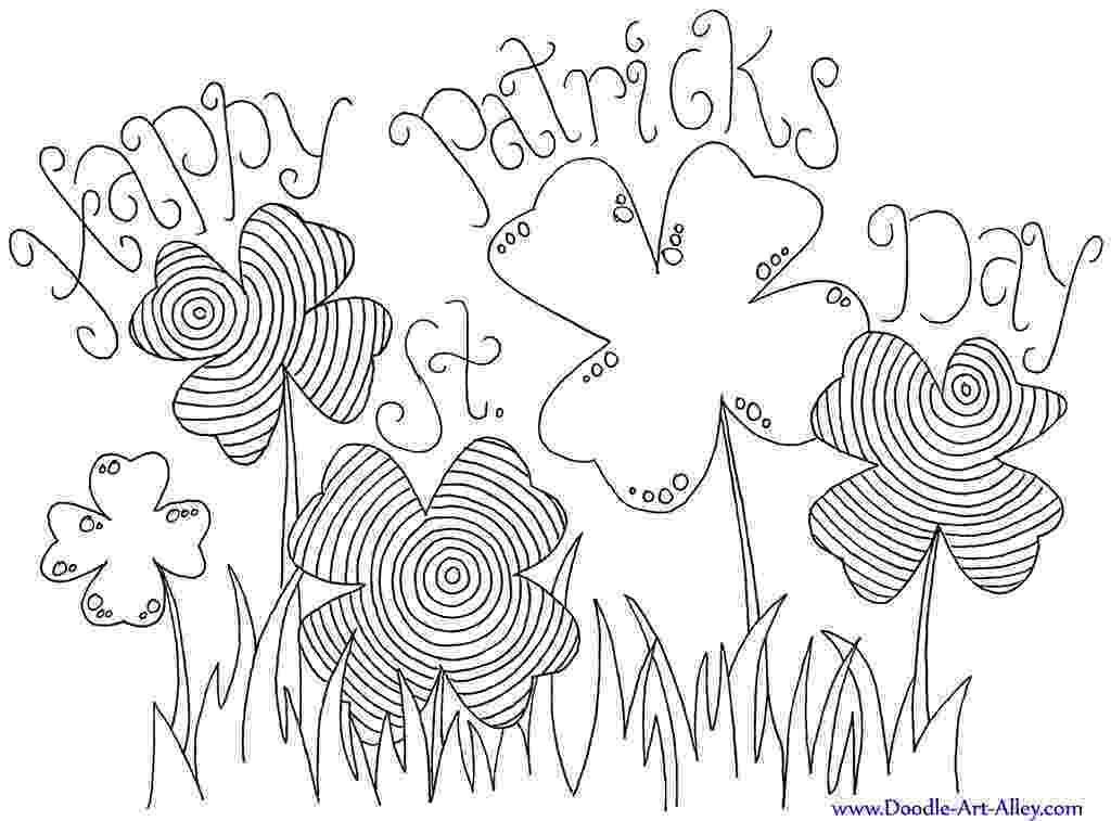 printable coloring sheets st patricks day st patrick39s day coloring pages and activities for kids printable sheets patricks coloring day st