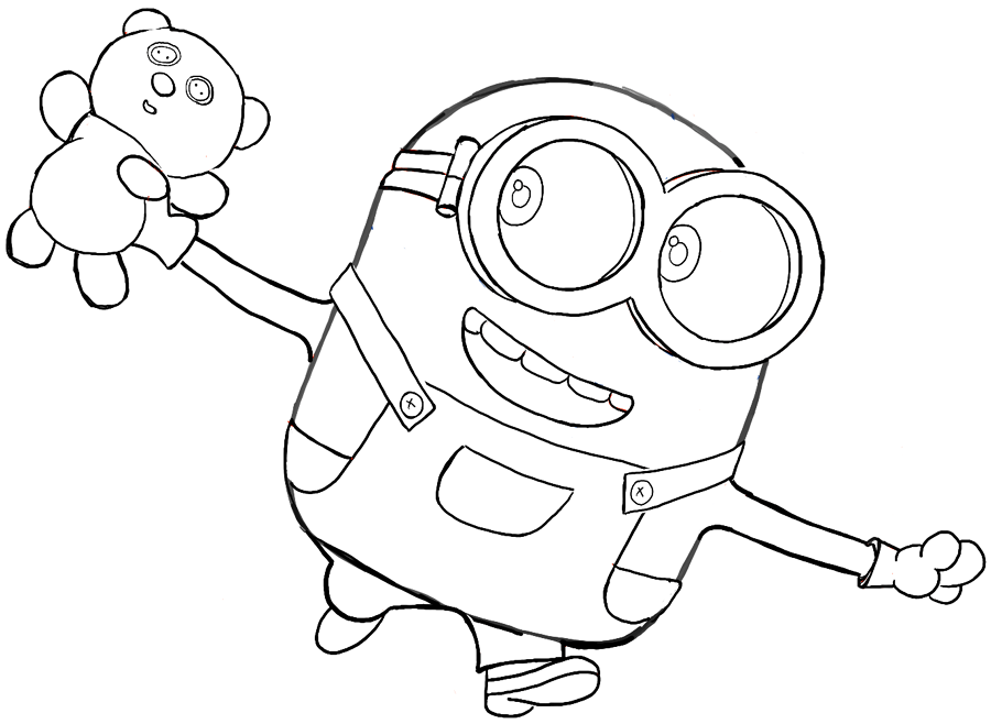 printable colouring pages minions free coloring pages printable pictures to color kids minions colouring printable pages