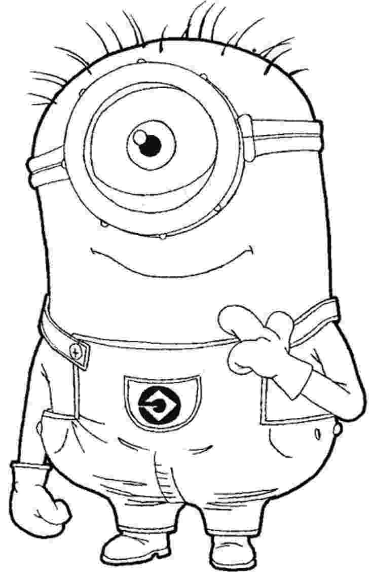 printable colouring pages minions minion coloring pages best coloring pages for kids minions colouring printable pages 1 1