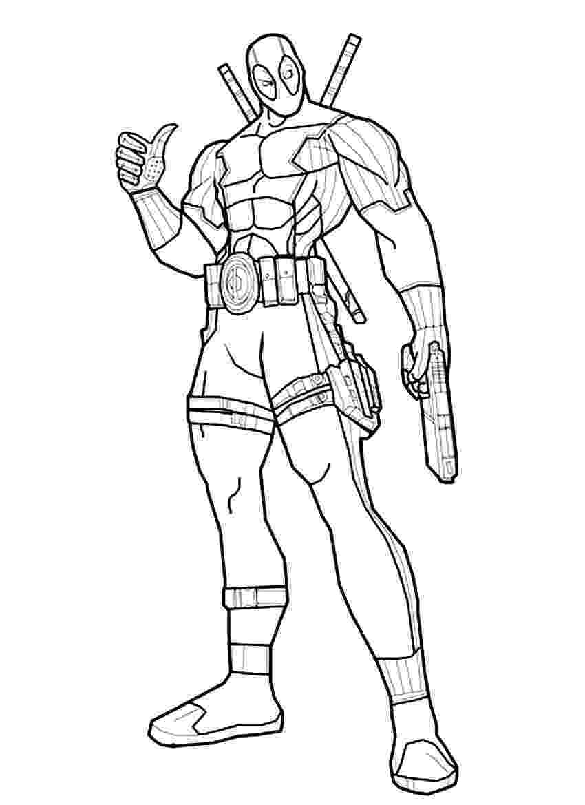printable deadpool coloring pages deadpool deadpool kids coloring pages deadpool coloring printable pages