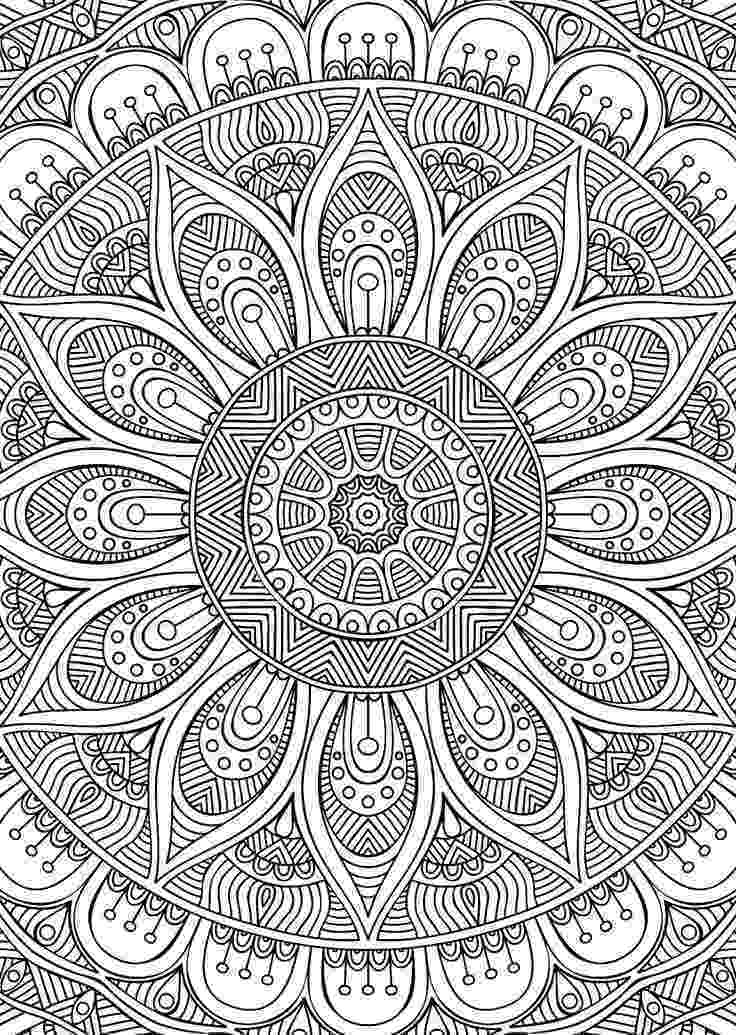 printable detailed coloring pages didzioji mandalu knyga mandala coloring pages coloring coloring printable pages detailed