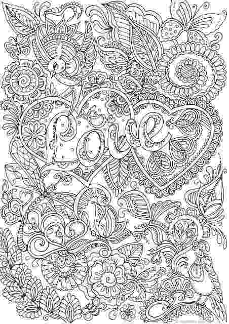 printable detailed coloring pages love in details printable adult coloring page from pages printable coloring detailed