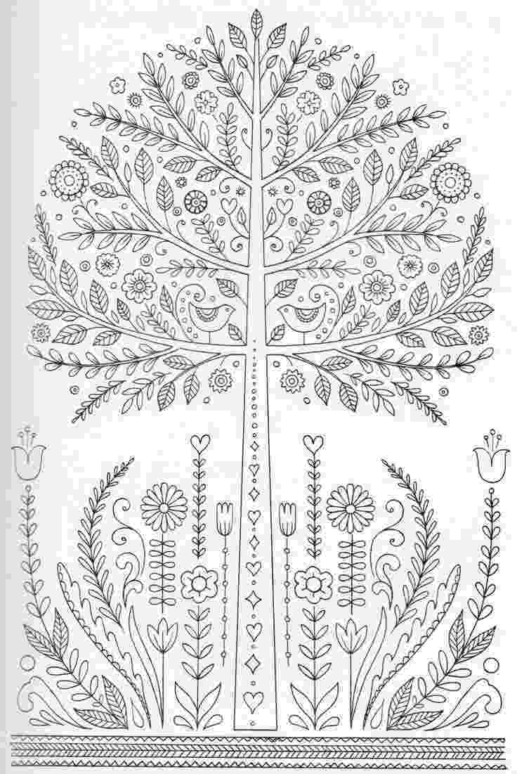 printable detailed coloring pages this detailed tree will be fun for your child to color and coloring pages detailed printable